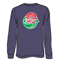 Long Sleeve Rosebowl Tee Shirt